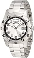 Invicta Men's 5249S Pro Diver Stainless Steel Silver Dial Watch by Invicta