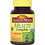 Nature Made Multi, Complete, with Iron, Tablets, 130 tablets