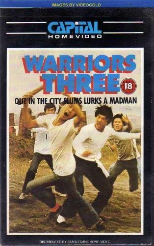 warriors-three-vhs