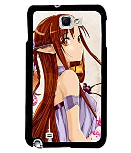 Fuson Fantasy Girls Back Case Cover for SAMSUNG GALAXY NOTE 1 - D3745