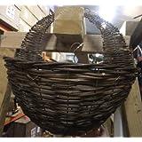 Apollo 16-inch Dark Willow Wall Basket