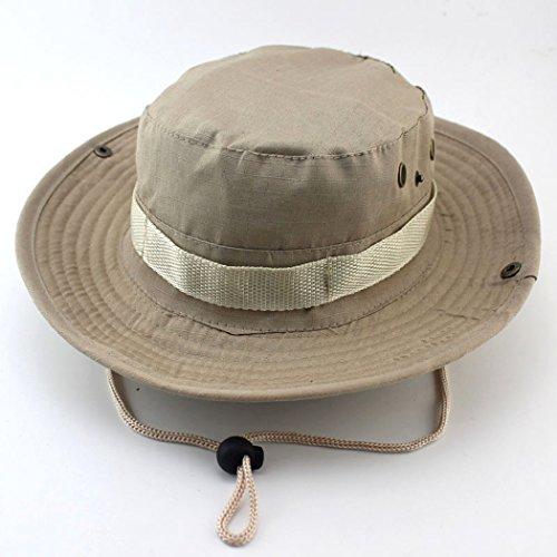Unimango Outdoors-Nastro a tesa larga da pesca, cappellini sole con protezione UV asciugatura rapida, cappello Beanie, per escursionismo e campeggio, in viaggio