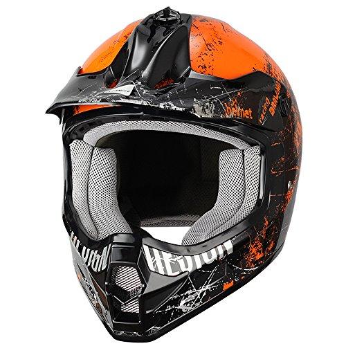 Youth-Off-Road-Sport-ATV-Motocross-Dirt-Bike-Motorcycle-Helmet-by-Triangle-DOT
