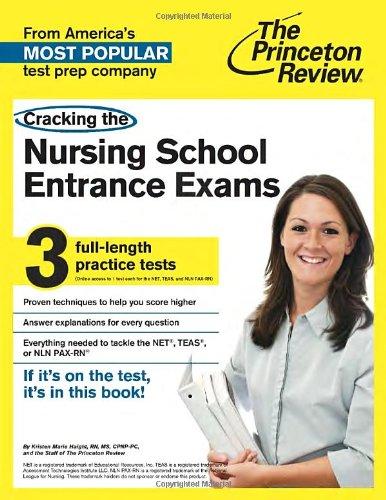 Cracking The Nursing School Entrance Exams (Graduate School Test Preparation)