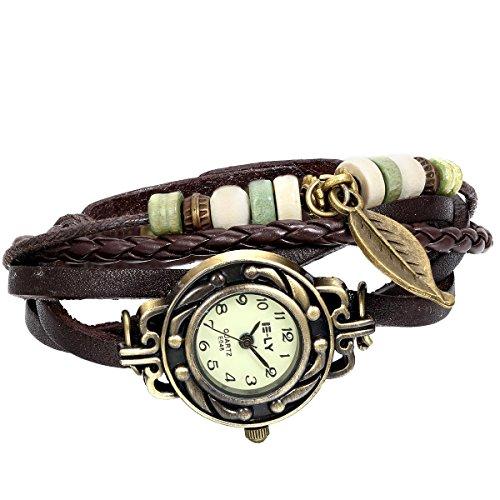 JewelryWe-Women-Quartz-Fashion-Weave-Wrap-around-Leather-Bracelet-Wrist-Watch