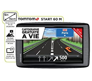 TomTom Start 60M Satellite Navigation System for 45 European Countries with 6-Inch Screen and Free Maps for Life
