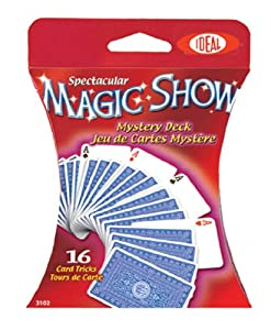 POOF-Slinky - Ideal Spectacular Magic Show 16-Trick Mystery Deck of Cards, 0C1142