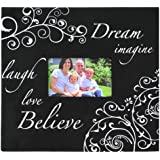 Pinnacle Frames and Accents Dream and Believe 20-Page 12x12 Scrapbook Photo Album