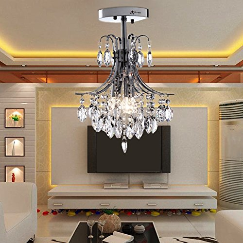 Oofay light e12 e14 2 st cke kristallleuchter f r wohnzimmer moderner kristallleuchter f r - Kristallleuchter modern ...