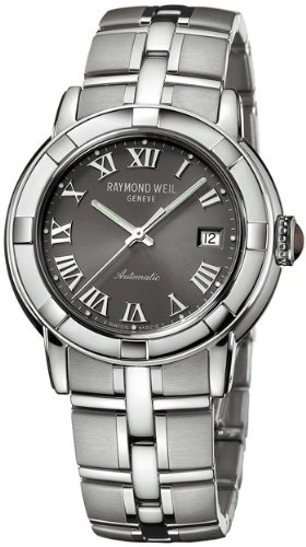 Raymond Weil Parsifal Grey Dial Automatic Mens Watch 2841-ST-00608
