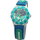 [ポケットモンスター]Poket Monster 腕時計 リストウォッチ キッズ アロイダイバーウォッチ スイクン ブルー PK10119 ボーイズ