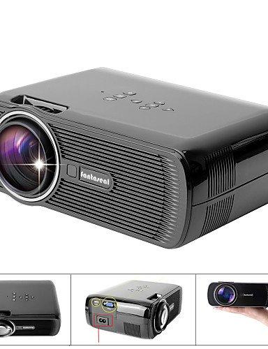 fantaseal® FHD 1080p supporté 1000lm mini home cinéma de mutimédia conduit projecteur w / atv, HDMI, VGA, USB 2.0, av, sd , au