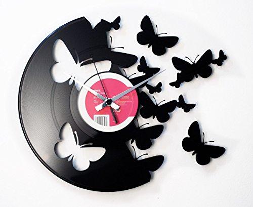 Orologio-in-vinile-vinyl-clock-DISCOCLOCK-DOC056-BUTTERFLIES