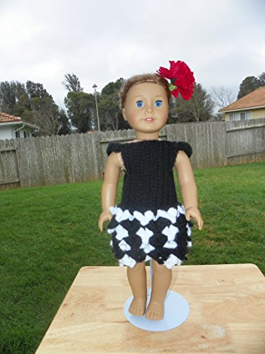 18 Inch Doll Crochet Dress Pattern Worsted Weight Fits American Girl Doll Journey Girl My Life Our Generation: Crochet Pattern (18 Inch Doll Whimsical Clothing Collection)