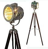 ethnic-roots-Floor-Lamp-Home-Decorative-Vintage-Design-Tripod-Lighting-Searchlight-Spot-Light