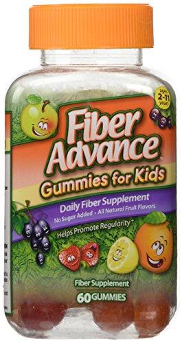 Fiber Advance Gummies For Kids Daily Fiber Supplement, 60 count