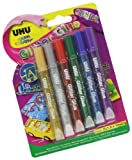 UHU Glitter Glue 10ml Pack of 6
