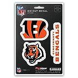 NFL Cincinnati Bengals Team Decal, 3-Pack