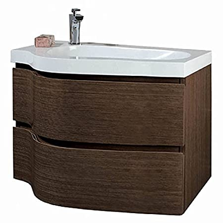 Phoenix Wave 80 Unit & Basin - Wenge FU153