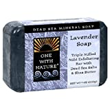 One With Nature Dead Sea Mineral Soap, Shea Butter, 7-Ounces (Pack of 6)
