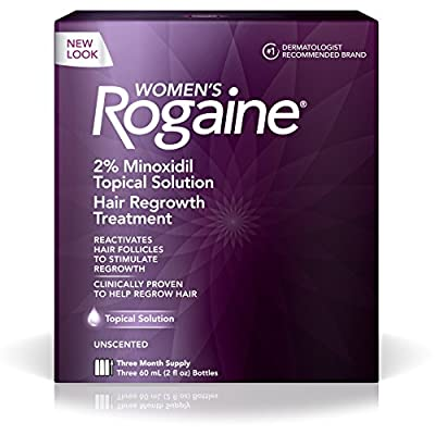Women's Rogaine Solution One Month Supply