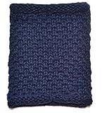 TheWin calentador de niños Curl neckerchiefs azul rizado azul