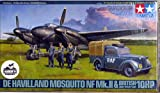 Tamiya 1/48 De Haviland Mosquito NF Mk.II w/British Lt Utility Car (Limited Edition)