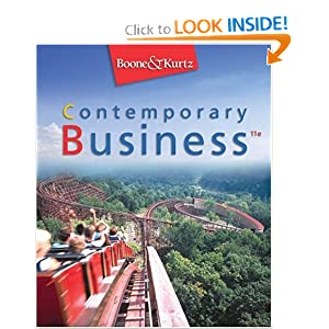 Contemporary Business with Xtra! and Audio -ROM  by Louis E. Boone