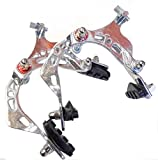 Bicycle Alloy Brake Calipers Front & Rear Set Silver