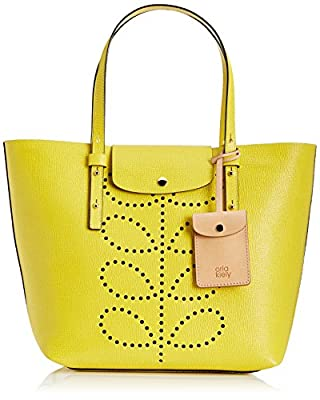 Orla Kiely Textured Leather Tillie Bag