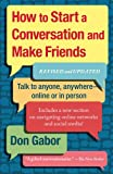 How to Start a Conversation and Make Friends Don Gabor
