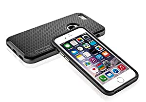 iPhone 6S case, iPhone 6 case, Desiro® [Charcoal Black] Black TPU Bumper Frame Slim Fit Protective Case Cover for Apple iPhone 6 (Verizon, AT&T Sprint, T-mobile, Unlocked)