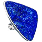 Ana Silver Co Huge Lapis Lazuli 925 Sterling Silver Ring Size 9