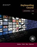 img - for Keyboarding Course, Lessons 1-25: College Keyboarding, Spiral bound book / textbook / text book