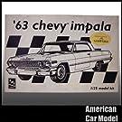 63 Chevy Impala SS 1963 シボレー インパラ AMT 6834 Model King 限定品 Chevrolet シェビー プラモデル タミヤ アオシマ ハセガワ [並行輸入品]