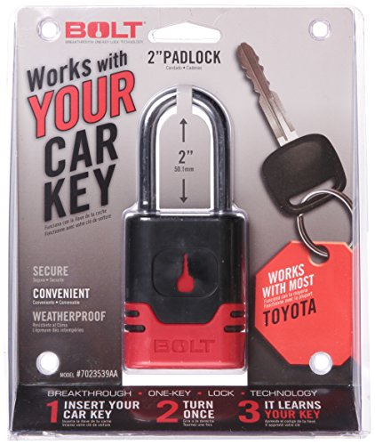 BOLT 7023539 Padlock for Toyota Keys (2004 Toyota Accessories compare prices)