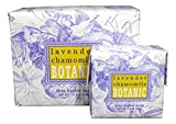 Bundle Of 2 Greenwich Bay Trading Co. Soaps 10.5oz Bath Soap Bar And Matching 1.9oz Hand Soap Bar (Lavender Chamomile)