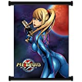 "Metroid Prime Game Samus Aran Fabric Wall Scroll Poster (16""x21"") Inches"