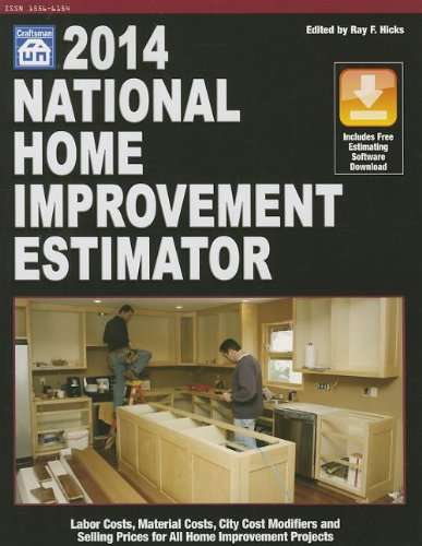 2014 National Home Improvement Estimator - Craftsman Book Co - 1572182946 - ISBN: 1572182946 - ISBN-13: 9781572182943