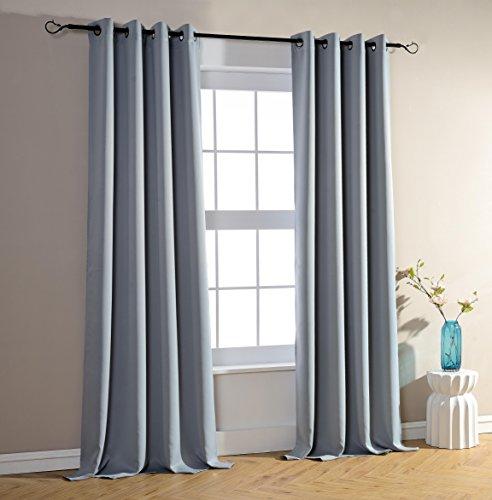 lot de 2 rideaux occultant gris 140 x 260 cm les petites annonces gratuites. Black Bedroom Furniture Sets. Home Design Ideas