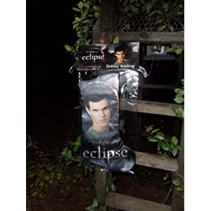 Twilight Eclipse JACOB Holiday Stocking NECA