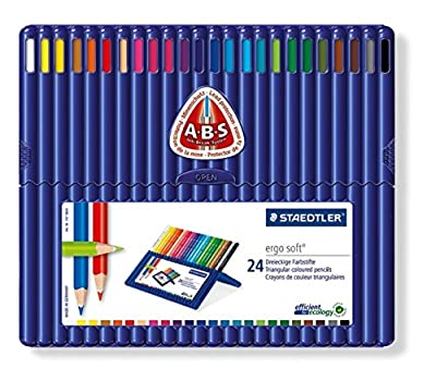 Staedtler Ergosoft 157 SB12 Triangular Colouring Pencils