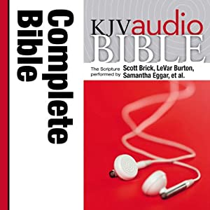 KJV Audio Bible, Pure Voice | [Zondervan]