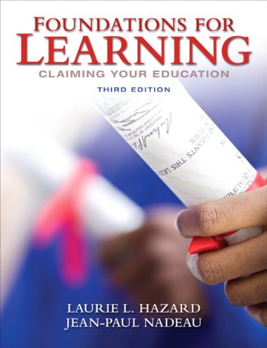 Foundations for Learning: Claiming Your Education (3rd...