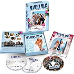 Mamma Mia! The Movie - Gimme! Gimme! Gimme! DVD Gift Set Version: Christine Baranski, Pierce Brosnan, Colin Firth, Stellan Skarsgrd, Meryl Streep, Julie Walters, Dominic Cooper, Amanda Seyfried, Phyll