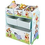 Winnie Pooh Regal Aufbewahrungsregal Kinderregal Spielzeugkiste Disney Puuh Bär 84686WP