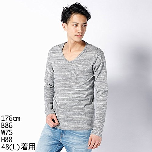 MKオム(MK homme) Tシャツ(ムラサメフライス長袖Tシャツ)【グレー/46(M)】