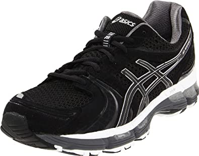 ASICS Men's GEL-Kayano 18 Running Shoe,Black/Onyx/White,6 M US