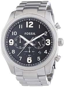 Fossil Men's FS4862 Foreman Analog Display Analog Quartz Silver Watch