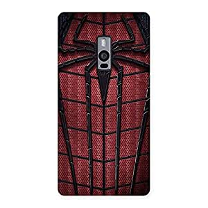 Enticing Premier Web Wear Multicolor Back Case Cover for OnePlus Two